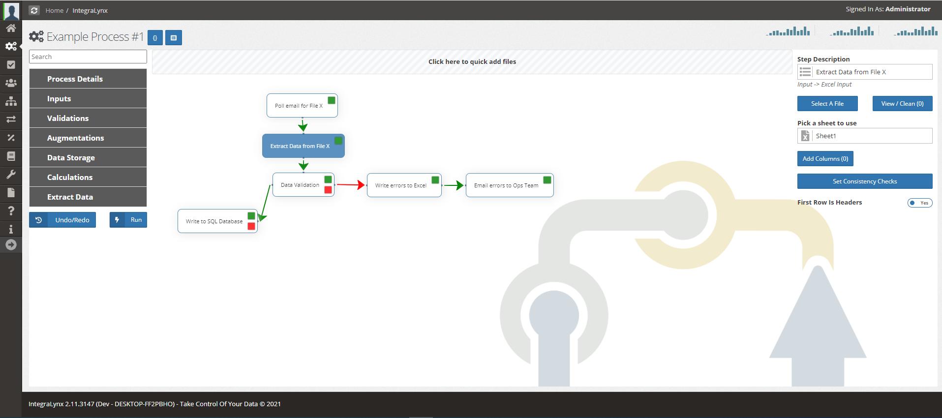 IntegraLynx-Screenshot